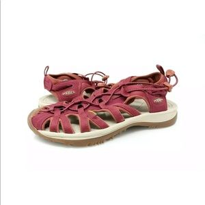 Keen Whisper Sport Hiking Sandals Pink Waterproof